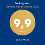 tania milos 2019 award booking